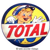 Stickers vintage Total enfant