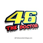 Stickers 46 Rossi Doctor