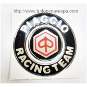 Stickers en relief piaggio Racing team