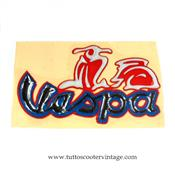 Stickers vespa rouge en relief