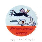 Stickers autocollant BP TWO -STROKE service
